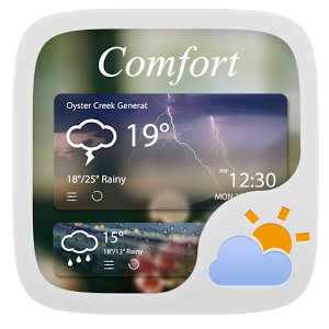 Comfort Weather Widget Theme