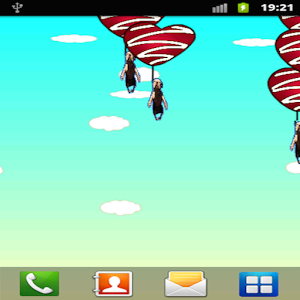 Flying dog Live Wallpaper
