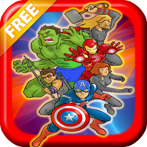 Superhero Games Free : Memory