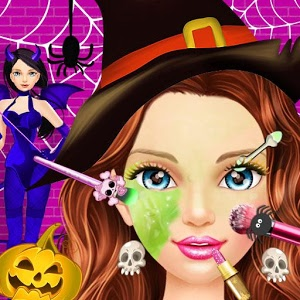 Halloween Makeover & Spa