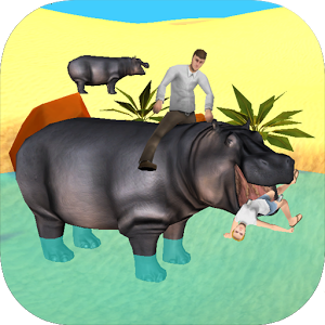 Hippo Attack Simulator 3D