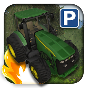 3D Tractor Car Parking