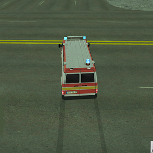 Ambulance Emergency Parking 3D