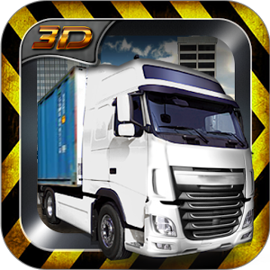 Container Truck Parking 3D