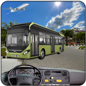 Drive Airport parking bus