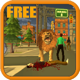 Lion Simulator City Attack 3D