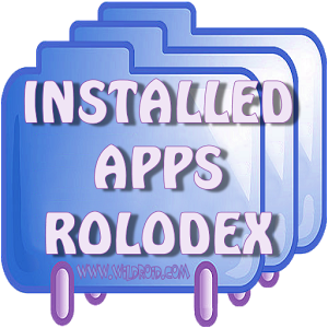 Installed Apps Rolodex